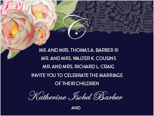 The Cousins | Wedding Invitation