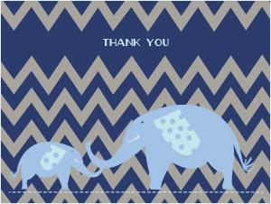The Hindmans | Thank You Card