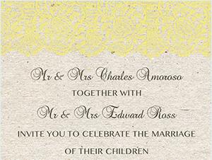 The Ross | Wedding Invitation