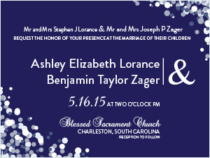 The Zagers | Wedding Invitation